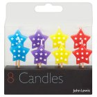 John Lewis star candles - 8s