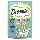 Dreamies+ anti-hairball with chicken - 55g New Line