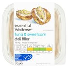 essential Waitrose tuna & sweetcorn deli filler - 170g