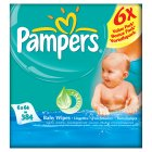 Pampers Baby Fresh Wipes 6x64s - 6x64s