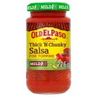 Old El Paso salsa mild - 226g Brand Price Match - Checked Tesco.com 16/04/2014