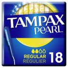 Tampax Pearl Regular Applicator Tampon Single 20PK - 20s Brand Price Match - Checked Tesco.com 20/08/2014