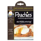 Poachies egg poaching bags - 20s