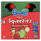 Goodies squeezies strawberry - 4x90g
