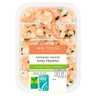 Waitrose King Prawns in Lemon Garlic and Parsley - 150g