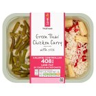 Waitrose Love life you count green Thai chicken curry and pepper rice - 400g