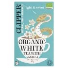 Clipper Organic White Tea & Vanilla - 26 Bags - 45g