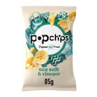 Popchips potato chips - salt & vinegar - 85g