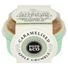 Pots&Co Caramelised Apple Crumble - 140g