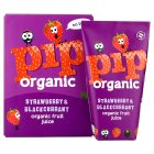 Pip Organic Strawberry and Blackcurrant Juice - 4x180ml