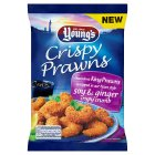Young's Crispy Prawns Soy & Ginger Crumb - 200g Introductory Offer