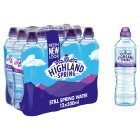 Highland Spring, still spring water, sports pack, 12 pack - 12x500ml