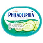 Philadelphia Light with cucumber soft white cheese - 170g