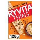 Ryvita thins multi-seed flatbread - 125g Brand Price Match - Checked Tesco.com 15/09/2014