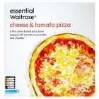 essential Waitrose cheese & tomato pizza - 300g
