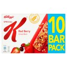 Kellogg's Special K red berry bars - 12x23g Brand Price Match - Checked Tesco.com 02/03/2015