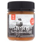 Steens raw 15+ manuka honey - 340g