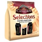 Cathedral City Selections extra mature Cheddar cheese, 14 pieces - 168g