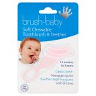 Brush-baby a soft teether brush - each