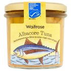 Waitrose MSC albacore tuna in extra virgin olive oil - drained 150g