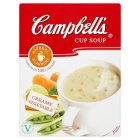 Campbell's creamy vegetable cup soup