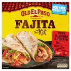 Old El Paso Fiery Jalapeño and Tomato Fajita Kit - 500g
