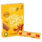 Ella's Kitchen Organic bananas and raisins nibbly fingers baby food - 5x25g