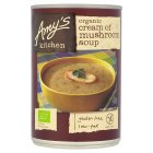 Amy's Kitchen cream of mushroom soup - 400g Brand Price Match - Checked Tesco.com 19/11/2014