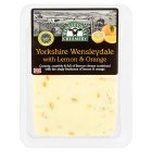 Wensleydale Creamery Wensleydale with Lemon & Orange - 200g