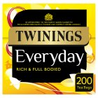 Twinings everyday 200 tea bags - 580g Brand Price Match - Checked Tesco.com 26/08/2015