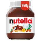 Nutella - 750g Brand Price Match - Checked Tesco.com 28/07/2014