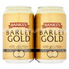 Banks's barley gold very strong ale