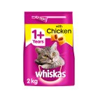 Whiskas complete with chicken dry cat food - 2kg