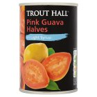 Trout Hall pink guava halves in light syrup - drained 212g