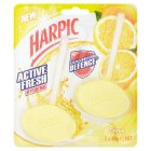 Harpic 2 citrus & hygienic cageless toilet blocks - 2x40g Brand Price Match - Checked Tesco.com 17/09/2014