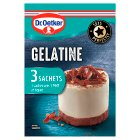 Dr. Oetker gelatine - 12g Brand Price Match - Checked Tesco.com 16/04/2014