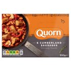 Quorn 6 Cumberland sausages - 300g Brand Price Match - Checked Tesco.com 01/07/2015
