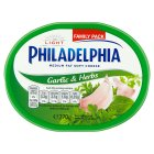 Philadelphia Light with garlic & herbs soft white cheese - 270g