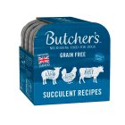 Butcher's Choice succulent meat foil trays - 4x150g