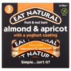 Eat Natural almond, apricot, & yogurt bars - 3x50g Brand Price Match - Checked Tesco.com 08/02/2016