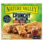 Nature Valley crunchy granola bars variety pack - 5x42g Brand Price Match - Checked Tesco.com 30/11/2015