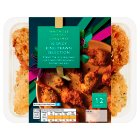 Waitrose 12 green Thai & red chilli king prawns - 246g
