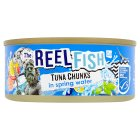 The Reel Fish Co tuna in spring water - drained 112g