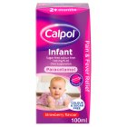 Calpol infant sugar free colour free - 100ml Brand Price Match - Checked Tesco.com 04/12/2013