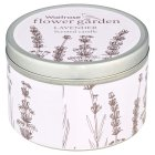 Waitrose lavender candle tin -