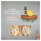 Heston from Waitrose Spiced Shortcrust Mince Pies Lemon - 4s