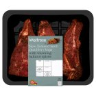 Waitrose New Zealand lamb shoulder steaks with Baharat spices - 400g