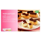 Waitrose 12 mini chocolate éclairs - 140g