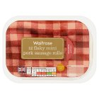 Waitrose 12 flaky mini pork sausage rolls - 264g