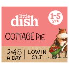 Little Dish 1 yr+ Cottage Pie with Seven Veg - 200g Brand Price Match - Checked Tesco.com 20/05/2015